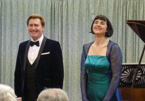 Paul Turner (piano) & Clare McCaldin (mezzo)